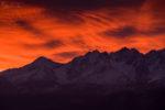 Armageddon – czerwony wschód słońca z Zębu